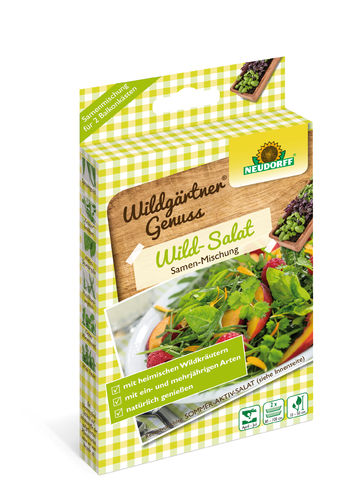 "Wildgärtner Genuss "" Wild Salat """