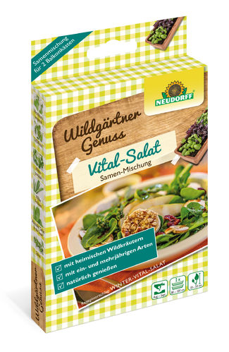 "Wildgärtner Genuss "" Vital-Salat """